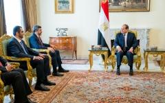 الصورة: الصورة: السيسي يستقبل عبدالله بن زايد ويؤكد تضامن مصر ودعمها للإمارات في مواجهة التحديات