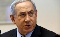 الصورة: الصورة: نتانياهو يدشّن مستوطنة «رامات ترامب» في الجولان
