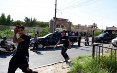 الصورة: الصورة: 50 قتيلاً وجريحاً بتفجير مسجد في بغداد