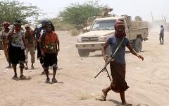 الصورة: الصورة: قوات الشرعية تحرر موقع وقصبة الدوير في الضالع