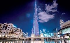 الصورة: الصورة: 350 ألف درهم قيمة الإعلان على برج خليفة لـ 3 دقائق