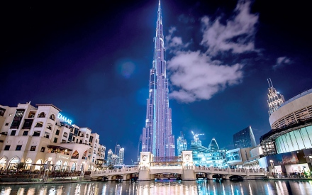 bf0bc68b9 350 ألف درهم قيمة الإعلان على برج خليفة لـ 3 دقائق