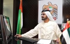 الصورة: الصورة: محمد بن راشد يرسخ مكانته ضمن أكثر قادة العالم متابعة وتأثيراً على «تويتر»