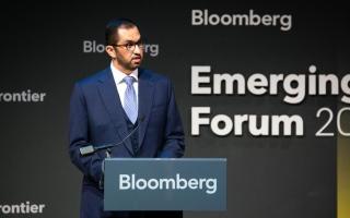 """الرئيس التنفيذي لمجموعة """"أدنوك"""" يشارك في """"منتدى بلومبرج للأسواق الناشئة"""""""