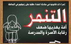 الصورة: الصورة: التنمر.. آفة يغذيها ضعف رقابة الأسرة والمدرسة