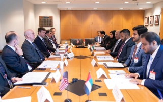الإمارات وأمريكا تعقدان الحوار الاقتصادي السادس