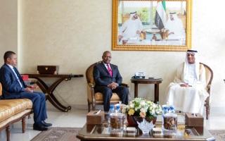 سعود القاسمي يستقبل  قنصل عام كينيا