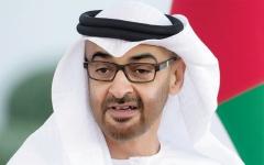 الصورة: الصورة: محمد بن زايد: الإمارات حريصة على تعزيز علاقات التعاون مع العراق
