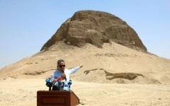 الصورة: الصورة: مصر تفتتح هرم اللاهون لأول مرة منذ اكتشافه في القرن التاسع عشر