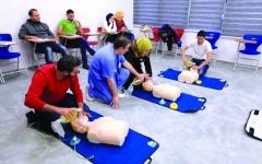 الصورة: الصورة: 117 دورة توعوية ومهنية لـ«إسعاف دبي» في 3 أشهر