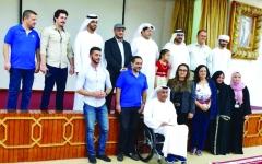 الصورة: الصورة: سعيد بن طحنون يحضر مبادرة التمكين الريادي