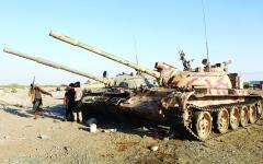 الصورة: الصورة: انتفاضة قبلية ضد الحوثي في صعدة