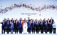 الصورة: الصورة: قمة العشرين تتفادى الخلافات في يومها الأول