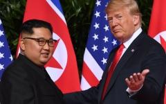 الصورة: الصورة: ترامب يريد مقابلة كيم لمدة دقيقتين وكوريا ترد