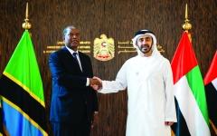 الصورة: الصورة: عبدالله بن زايد: الإمارات حريصة على تعزيز العلاقات الثنائية مع تنزانيا