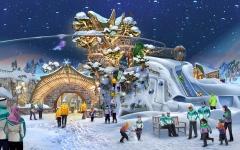 الصورة: الصورة: أبوظبي تنشىء أكبر حديقة ألعاب ثلجية مغطاة في العالم