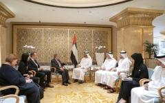 الصورة: الصورة: محمد بن زايد: الإمارات سباقة في دعم الجهود العالمية للحد من آثار التغيير المناخي