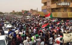 الصورة: الصورة: التظاهرات تجتاح السودان في مليونية الشهداء