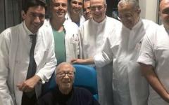 الصورة: الصورة: أول صورة للرئيس التونسي بعد الأزمة الصحية