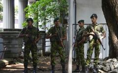 الصورة: الصورة: القبض على وزير الدفاع والمفتش العام للشرطة السابقين في سريلانكا