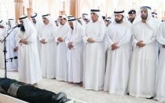 الصورة: الصورة: الإمارات تشيّع فقيد الوطن خالد بن سلطان