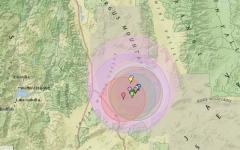 الصورة: الصورة: زلزال بقوة 6.4 درجة يضرب كاليفورنيا