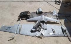 """الصورة: الصورة: إسقاط طائرات حوثية """"مسيّرة"""" أُطلقت باتجاه السعودية"""