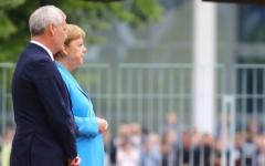 الصورة: الصورة: الحكومة الألمانية تعلق على ارتعاش ميركل للمرة الثالثة