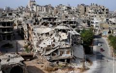 الصورة: الصورة: إعادة إعمار آثار «الربيع العربي» تحتاج تريليون دولار