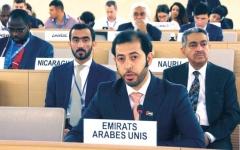 الصورة: الصورة: الإمارات تدعو إلى دعم أممي لاتفاق السودان