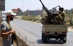 الصورة: الصورة: المسماري: السراج دفع أموالاً  لخونة في بنغازي