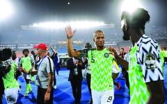 الصورة: الصورة: 75 ألف دولار مكافآت للاعبي نيجيريا