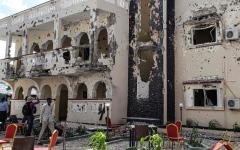 الصورة: الصورة: 26 قتيلاً بهجوم إرهابي في الصومال