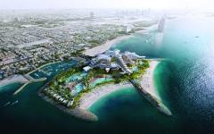 الصورة: الصورة: ولادة جزيرة جديدة في دبي