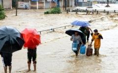 الصورة: الصورة: مصرع 50 شخصاً على الأقل جراء أمطار موسمية في النيبال