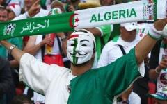 الصورة: الصورة: وفاة وإصابة 12 جزائرياً  خلال احتفالات الفوز