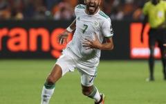 الصورة: الصورة: رياض محرز: نريد الفوز باللقب في مصر التي نشكرها على حسن التنظيم