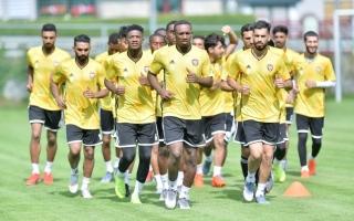 الصورة: الصورة: إسماعيل راشد:معسكر المنتخب مثالي لتحقيق التناغم بين مارفيك واللاعبين