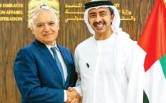 الصورة: الصورة: الإمارات: حريصون على إنهاء الخلافات الليبية