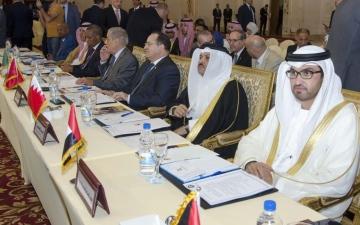 الصورة: الصورة: الإمارات تشارك في الدورة الخمسين لمجلس وزراء الإعلام العرب بالقاهرة