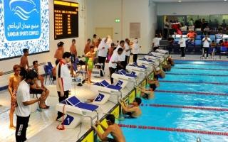الصورة: الصورة: الإمارات وضعت السباحة الخليجية على طريق العالمية