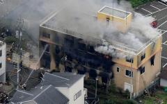 الصورة: الصورة: ارتفاع ضحايا حريق استوديو الرسوم المتحركة باليابان