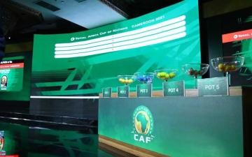 الصورة: الصورة: نتائج قرعة تصفيات كأس الأمم الأفريقية 2021