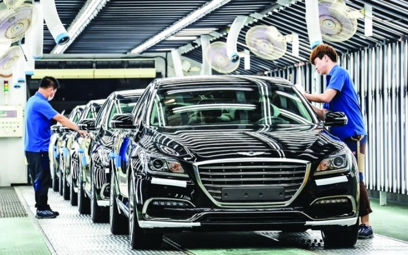 الصورة: الصورة: زيادة إنتاج صناعة السيارات في كوريا الجنوبية بنسبة 1.2%