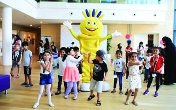 الصورة: الصورة: «مدهش» يحوّل الأحلام إلى واقع بمركز الجليلة لثقافة الطفل