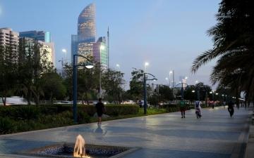 الصورة: الصورة: أبوظبي أكثر مدن العالم أماناً للعام الثالث