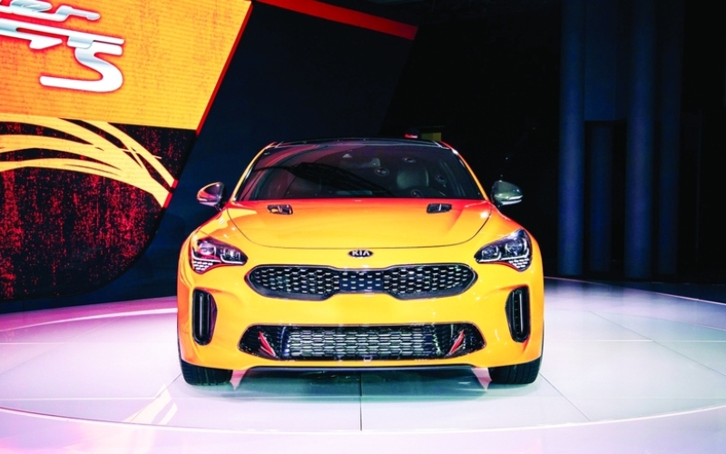 الصورة: الصورة: «الماجد للسيارات» تطلق «كيا ستينجر 2020» في الإمارات