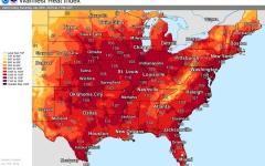 الصورة: الصورة: موجة حرّ شديدة تجتاح وسط وشرق أمريكا