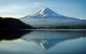 الصورة: الصورة: اليابان تتيح تسلق جبل فوجي البركاني