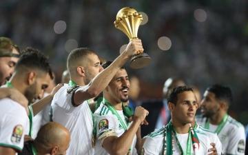 الصورة: الصورة: بوادر أزمة في الكرة الجزائرية بعد التتويج بكأس إفريقيا